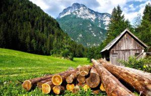 come vivere in autosufficienza in montagna