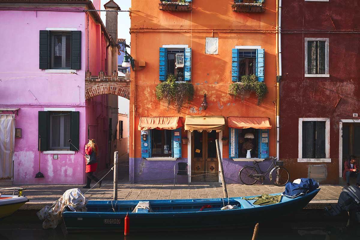 Burano e la storia delle case colorate