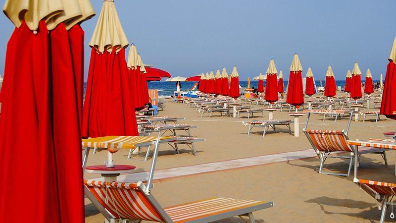 Rimini spiaggia vacanze