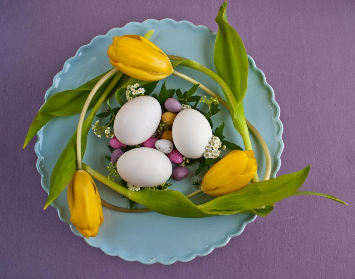 Pillole di interior design: arredare casa il giorno di Pasqua