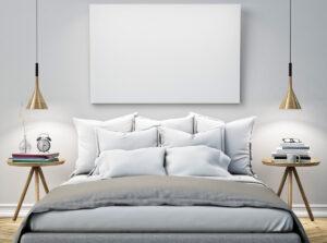 Arredare una camera da letto stretta: 5 errori da non fare
