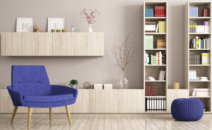 Le librerie da soggiorno