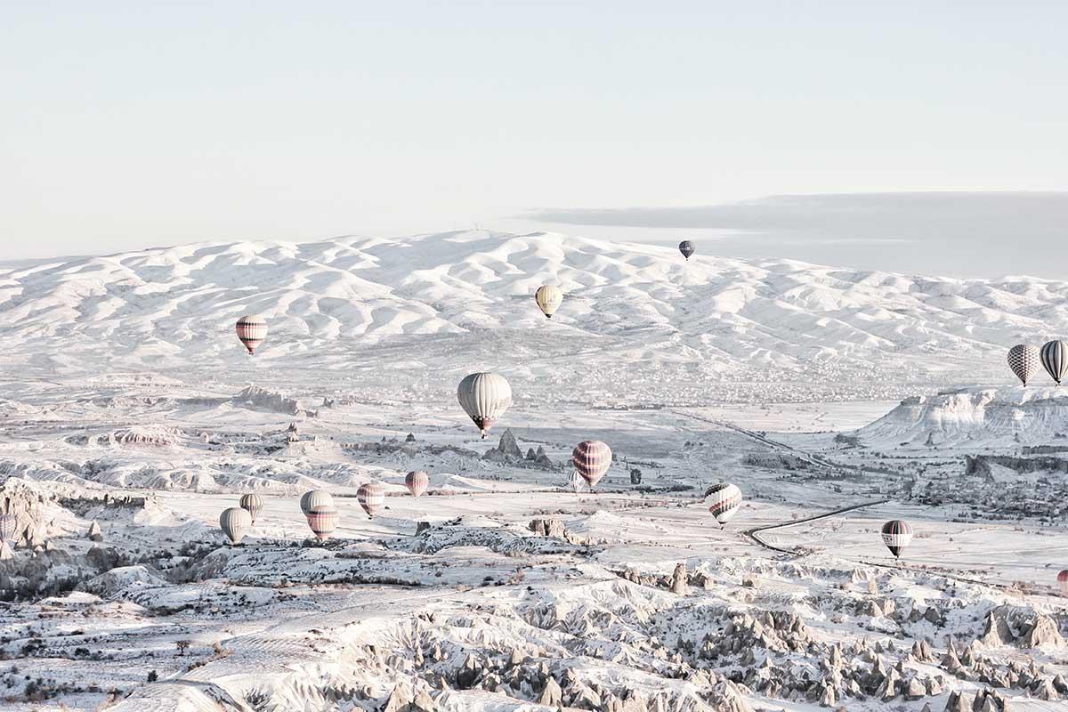 Visitare la Cappadocia in mongolfiera: un'esperienza da sogno