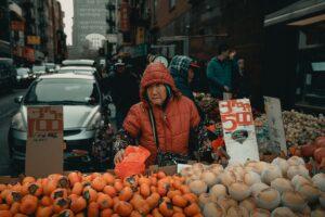New york frutta verdura
