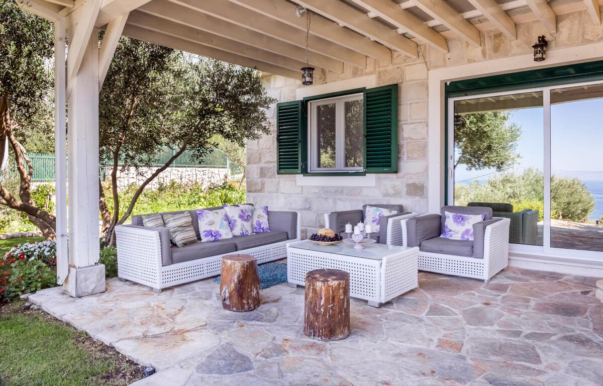 come arredare la veranda di casa