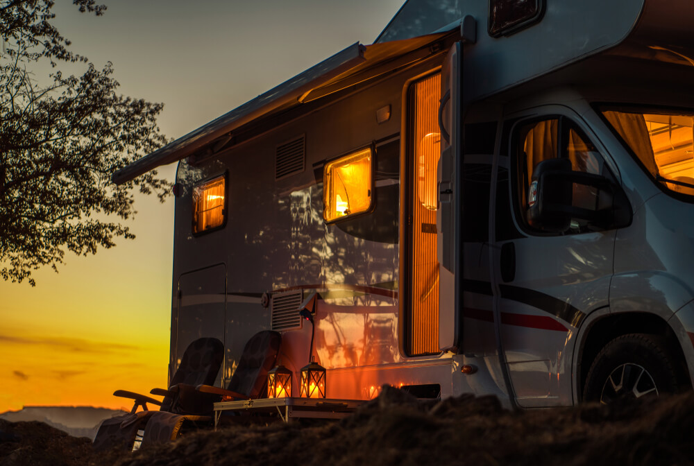 si può vivere in un camper?