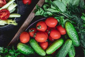 Mangiare frutta e verdura di stagione nel mese di luglio