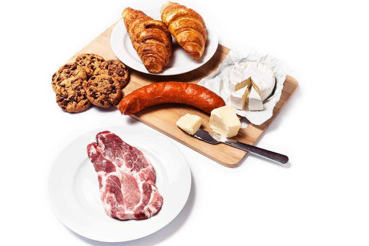 grassi saturi dannosi per la memoria