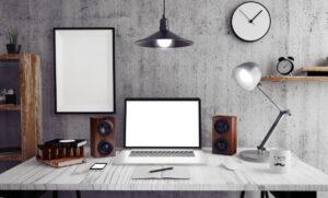 4 modi per illuminare un home office
