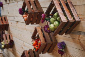 cassette della frutta riutilizzo creativo