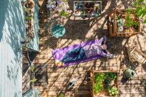 Dormire in terrazzo