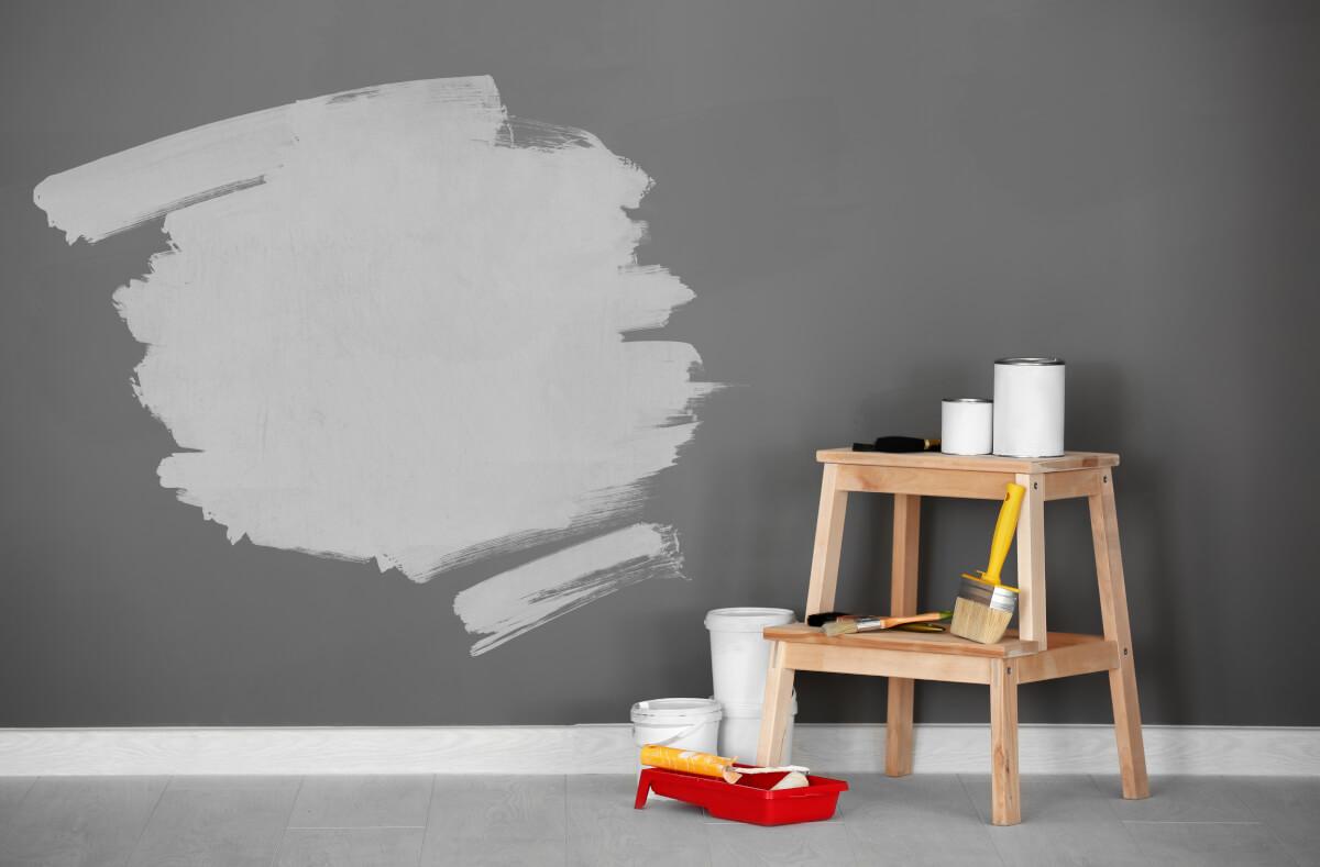 Dipingere le pareti di casa in pochi semplici passi migliorando la qualità dell'aria