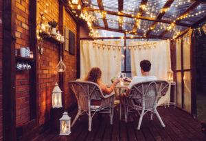 Come organizzare un aperitivo in terrazza