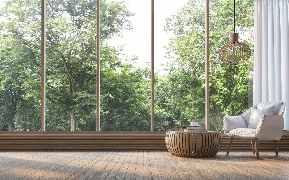 Infissi legno-alluminio a taglio termico