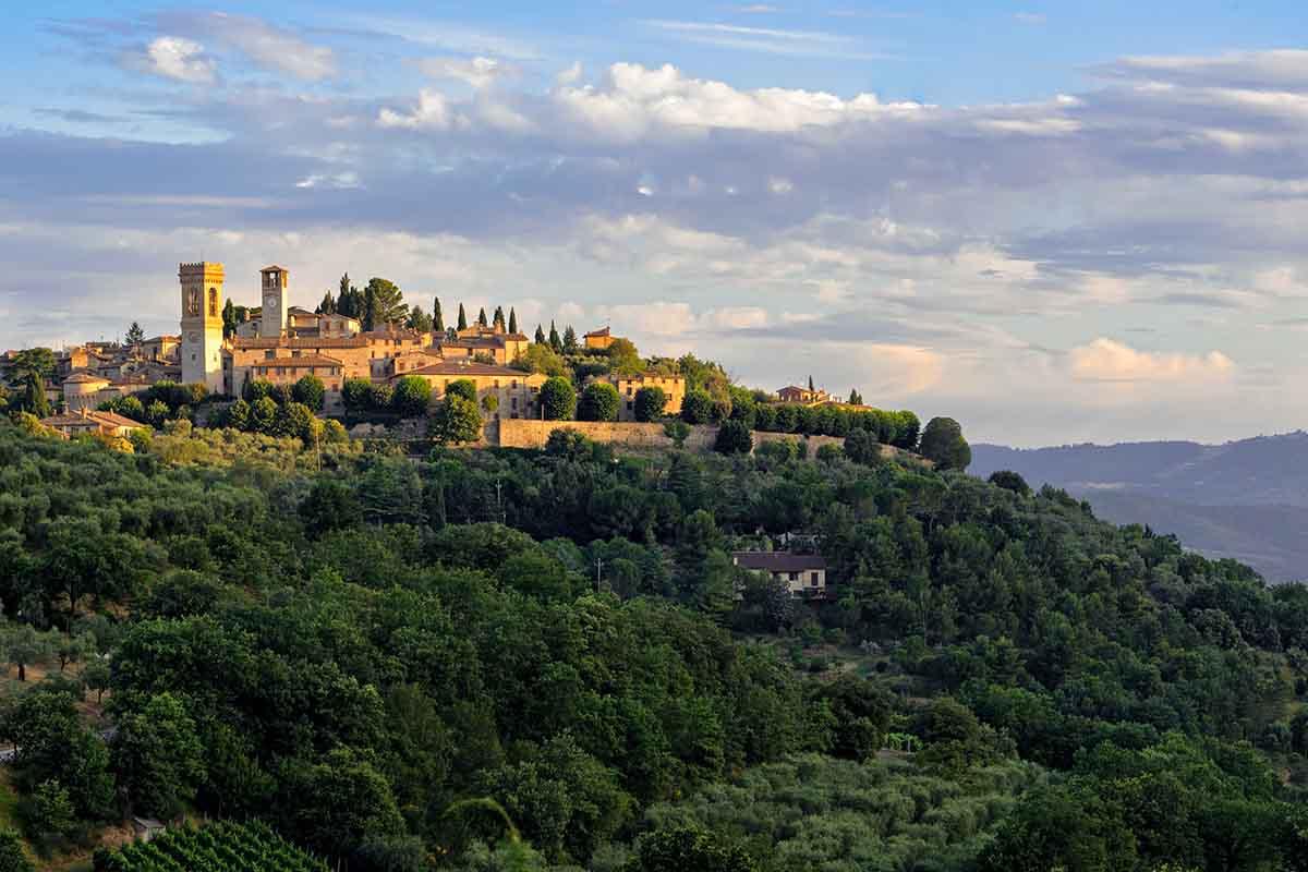 Il borgo di Corciano: silenzio e bellezza