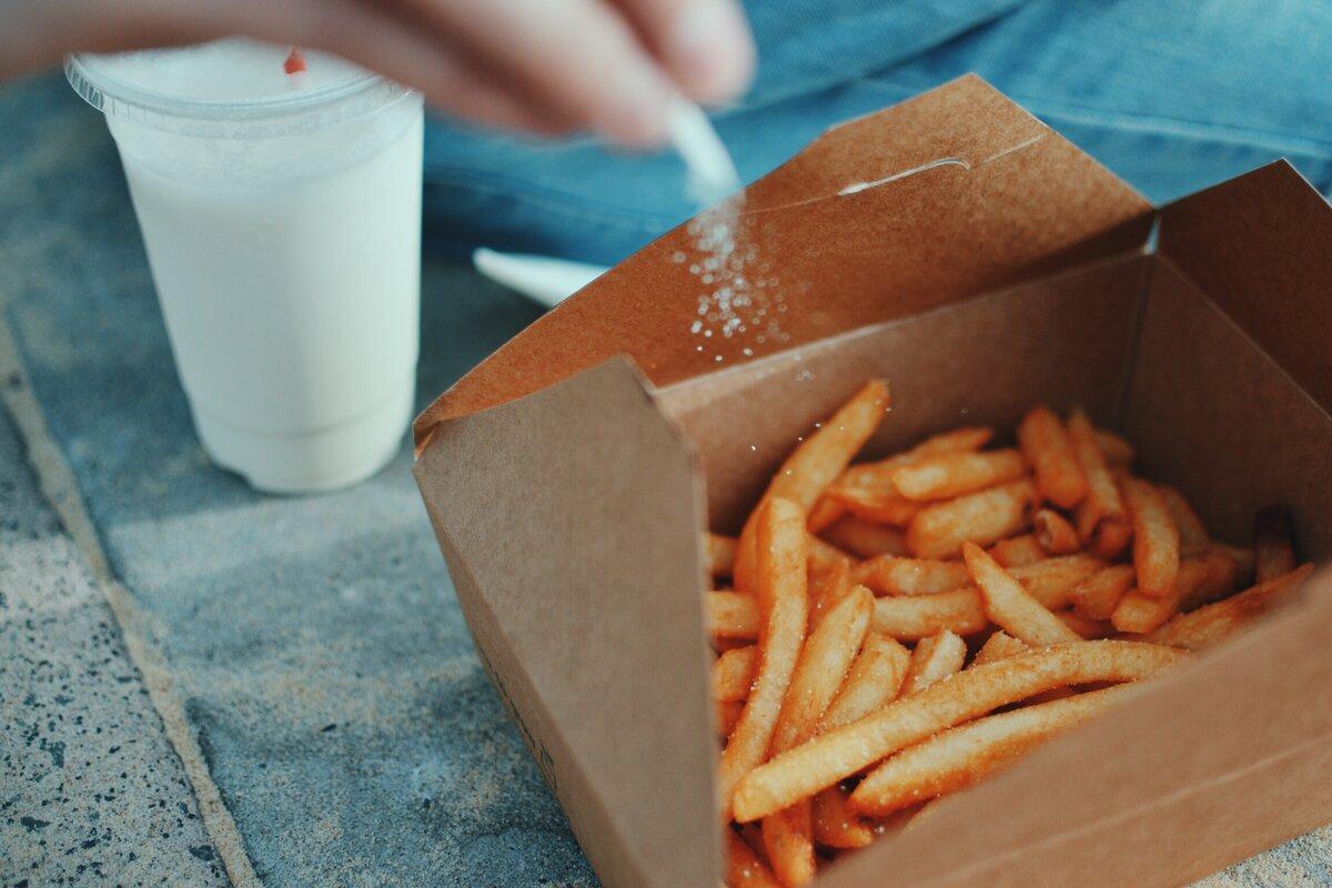 Che cos'è il cibo spazzatura