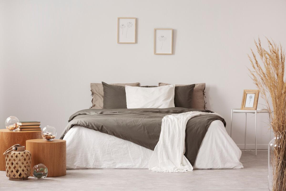 Arredare la camera da letto con i colori autunnali