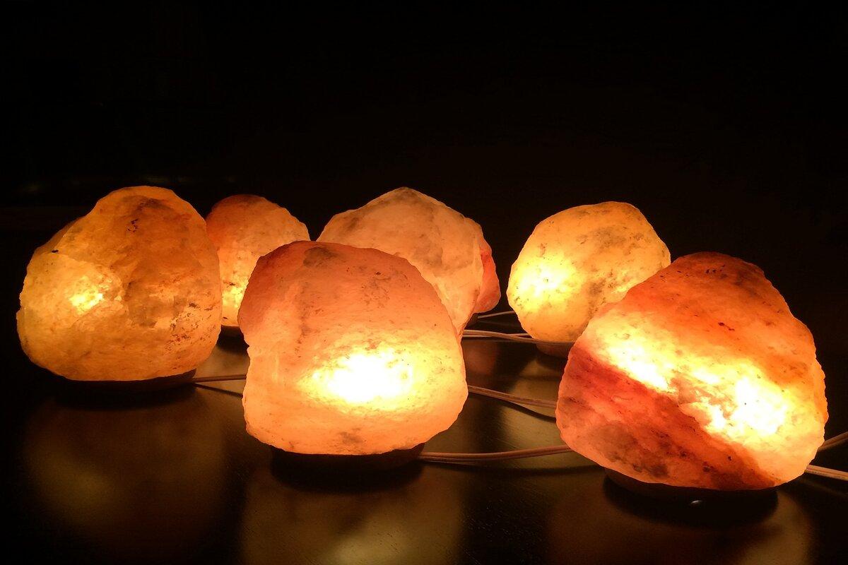 Tutti i benefici delle lampade in sale