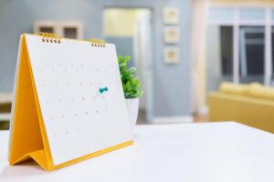 Planning mensile: cosa fare a casa per sfruttare il tempo