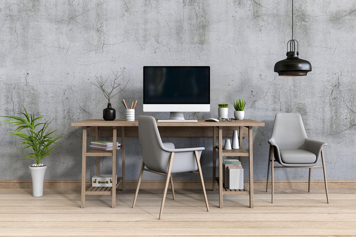 Studio moderno in casa, arredare studio moderno