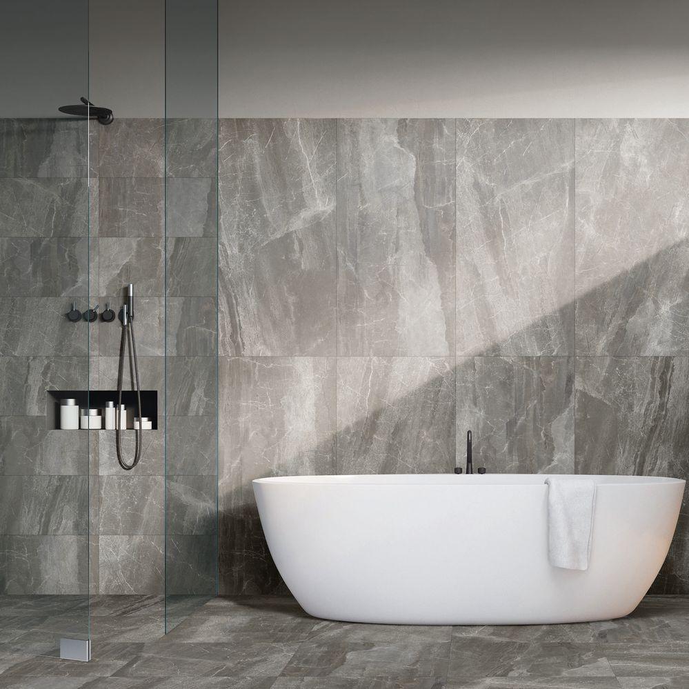 arredare bagno con marmo