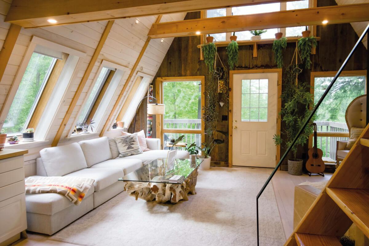 arredare casa in montagna e il soggiorno