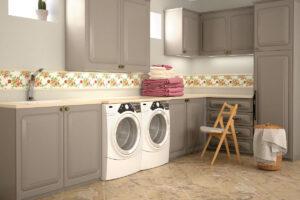 Sfruttare il seminterrato come lavanderia
