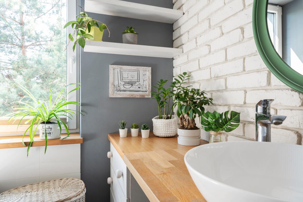 Arredare il bagno in stile Jungle