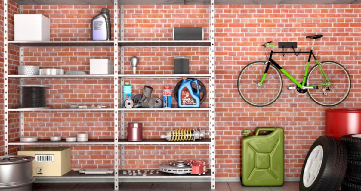 organizzare lo spazio in garage
