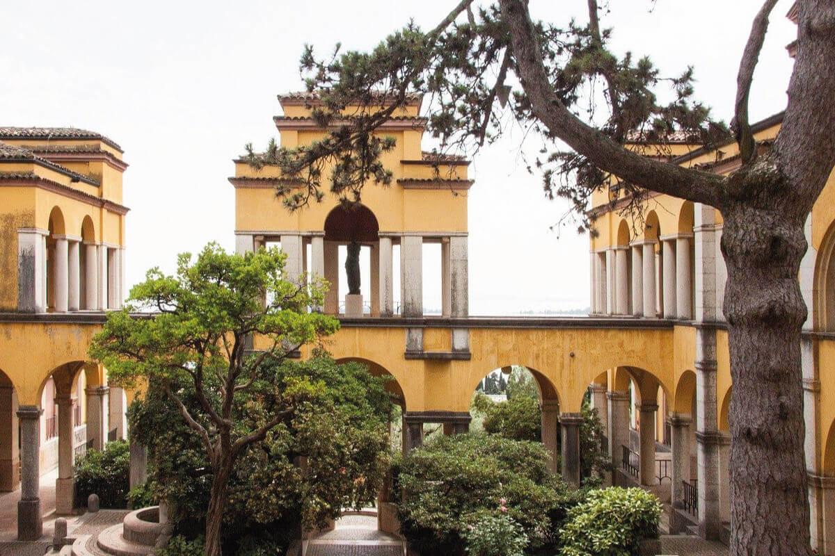 Casa Museo di Gabriele D'Annunzio sulle rive del Garda complesso monumentale