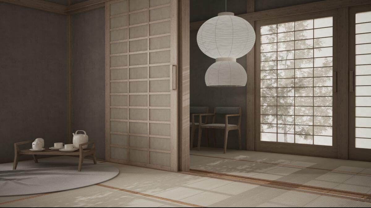 arredare una camera da letto in stile zen