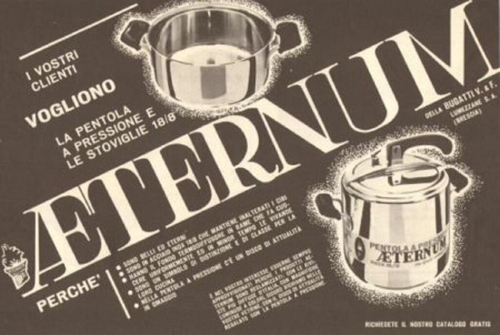 DAL 1938 AL 2020 AETERNUM IN CUCINA