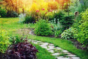 giardino in stile cottage