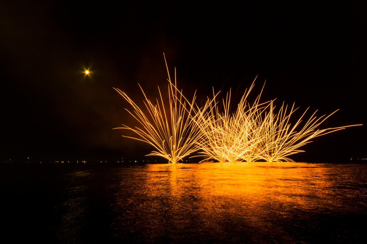 Storia e origine del Capodanno - fuochi d'artificio