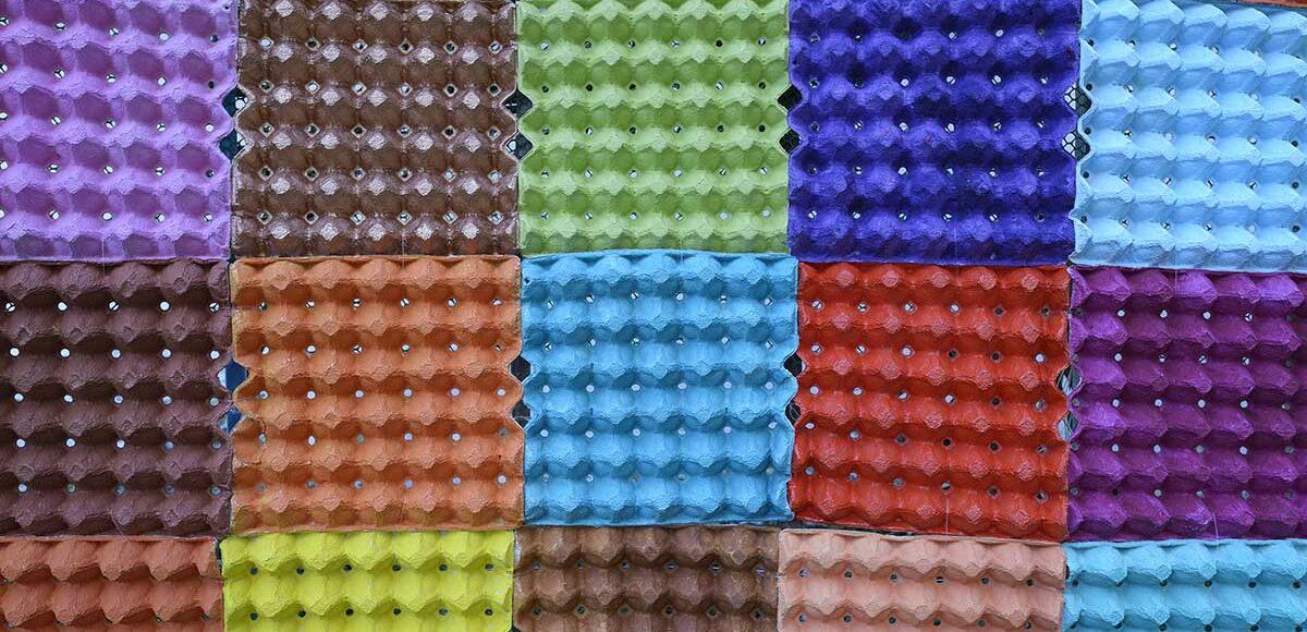 Come riciclare i contenitori di cartone delle uova