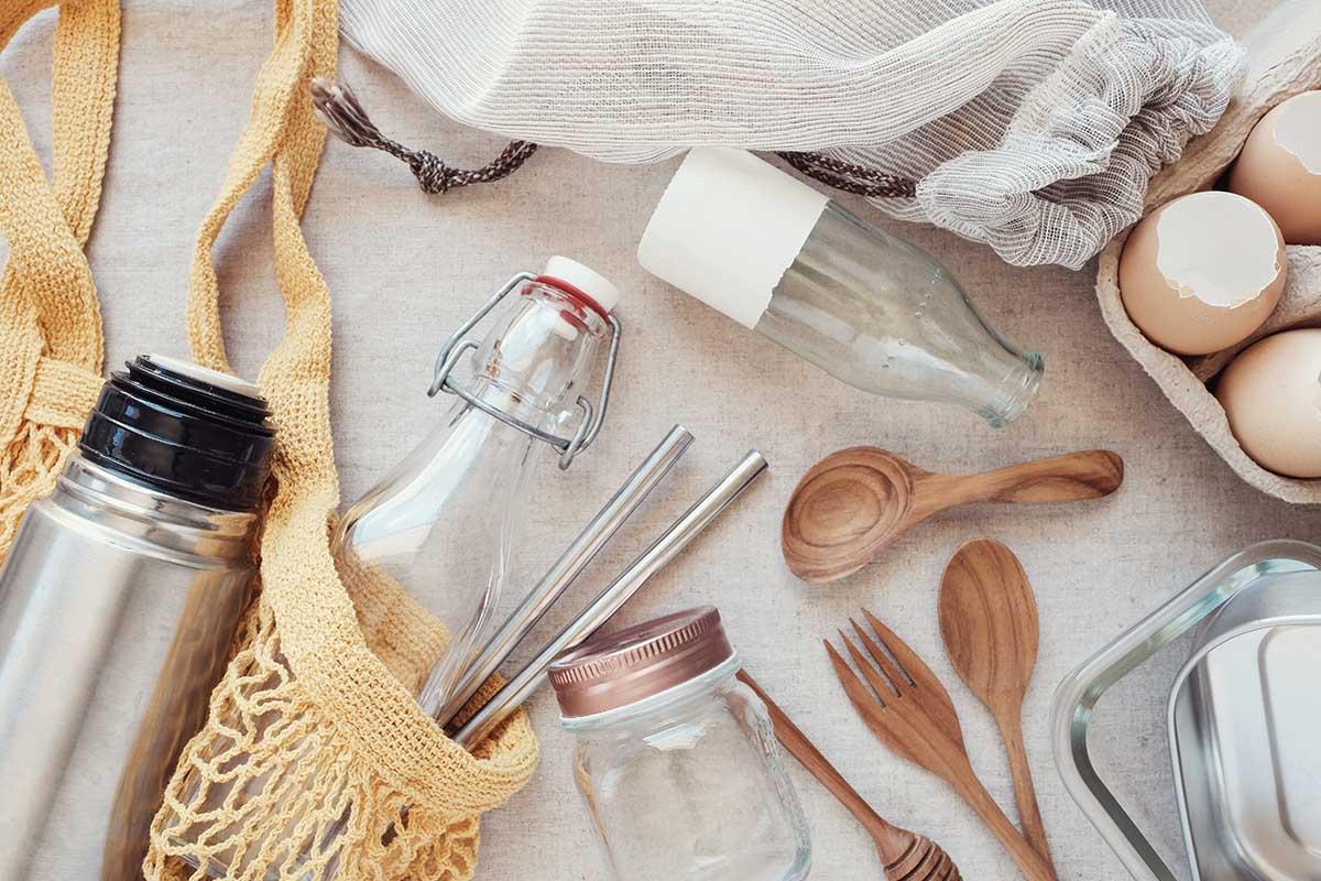 Come sostituire la plastica in casa