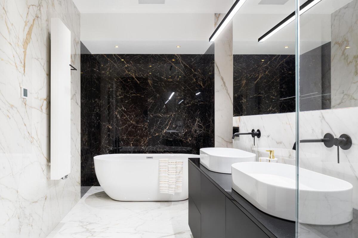 Illuminare il bagno con i led e creare effetti interessanti