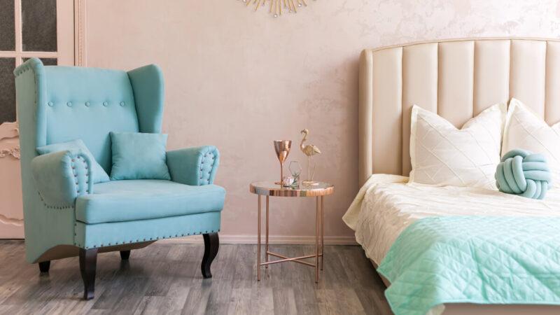 color Tiffany per arredare casa