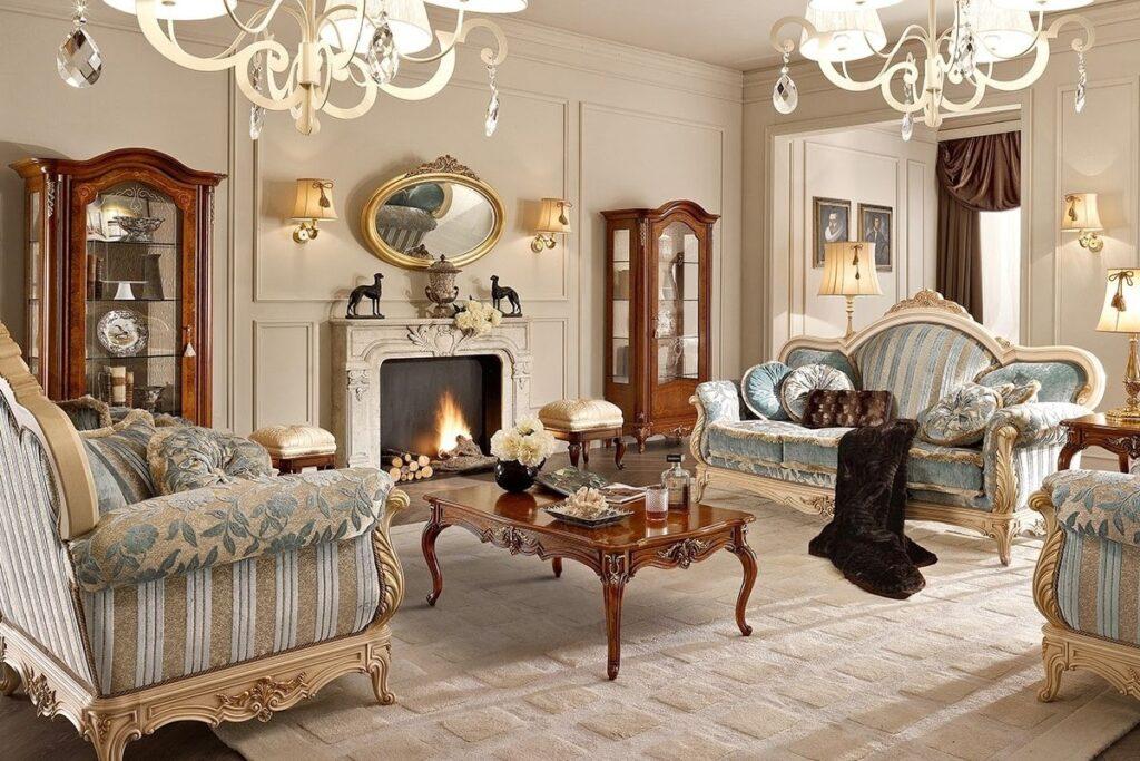 mobili in legno stile classico