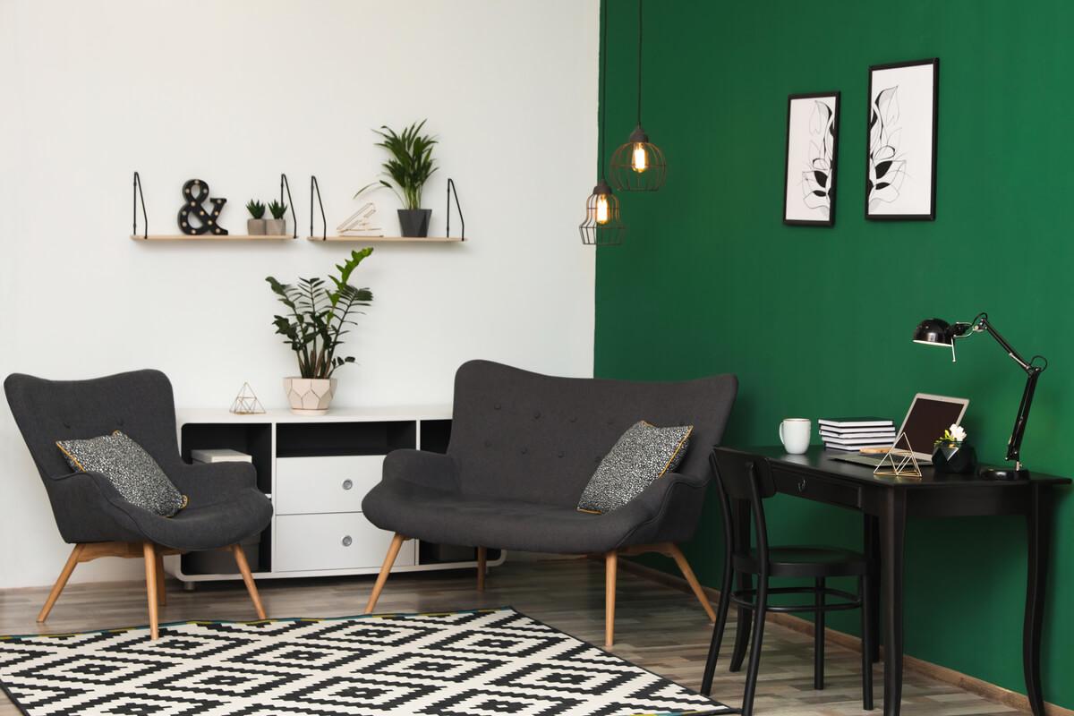 Home Office sostenibile - Quale colore scegliere