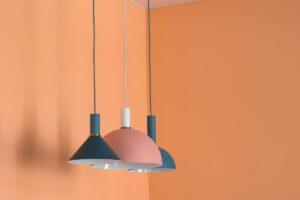 arancione mandarino pareti di casa dipingere pareti
