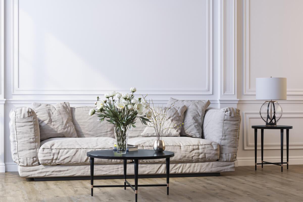 arredare una casa in stile parigino dal soggiorno alla camera da letto