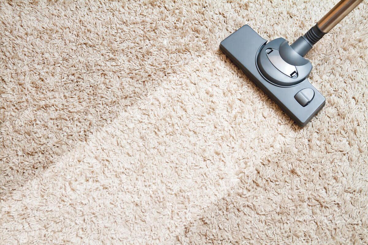 Polvere in casa - aspirapolvere - tappeto