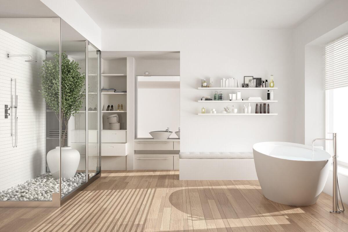 scegliere il pavimento del bagno in cinque mosse