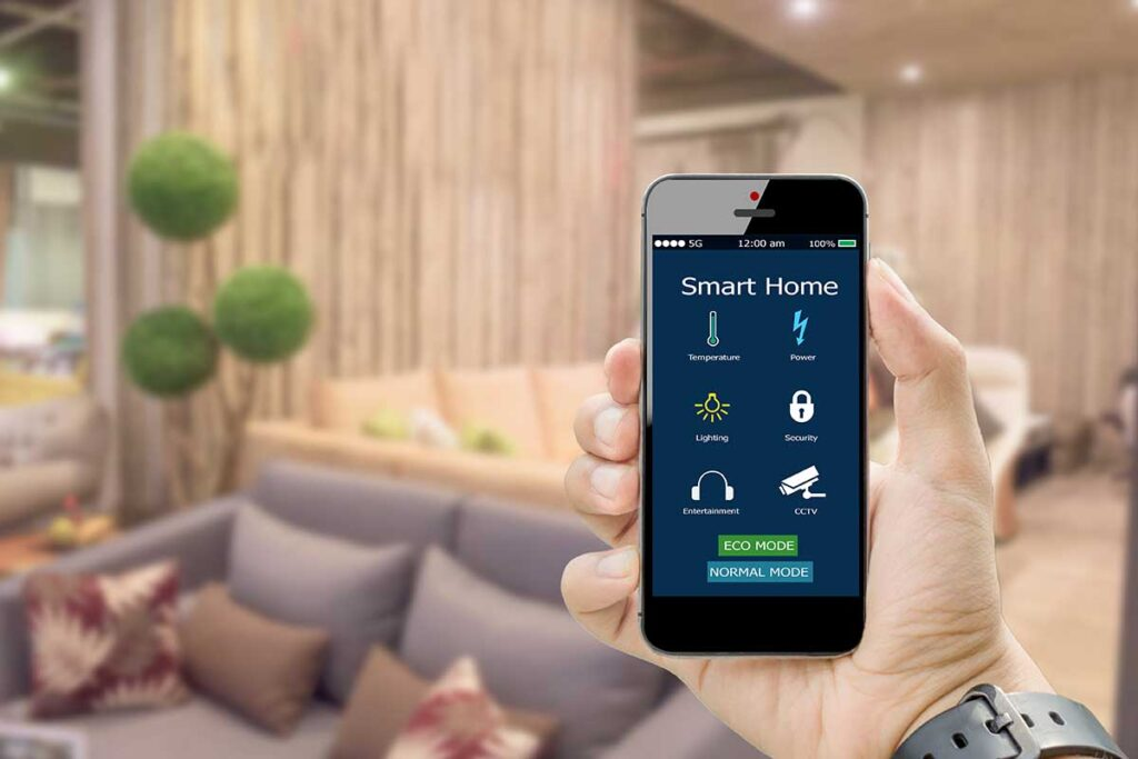 Oggetti intelligenti per una casa funzionale