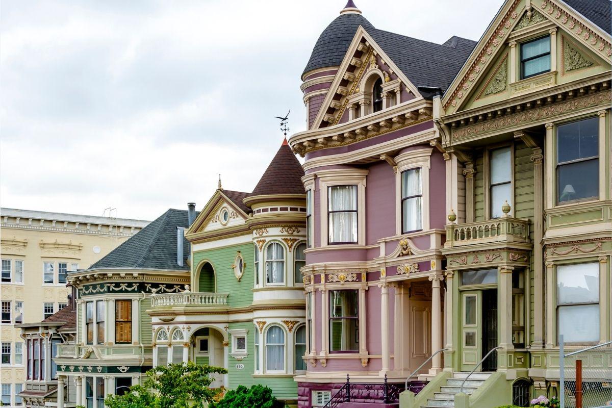 San Francisco - palazzina vittoriana