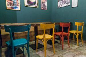 C-cubo ecodesign - sedie in legno
