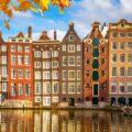 Case di Amsterdam - canale di Amsterdam
