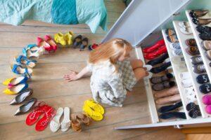 dove mettere le scarpe