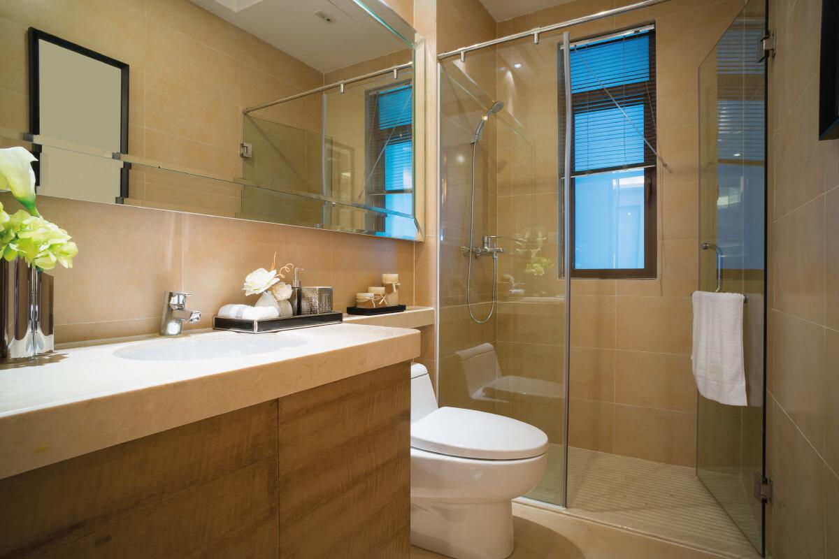 Dove posizionare la doccia nella stanza da bagno piccola